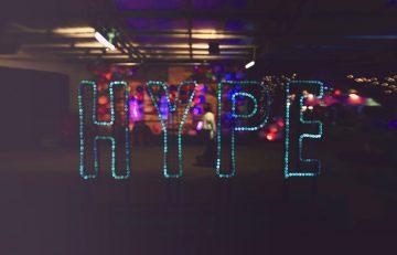 HYPE text