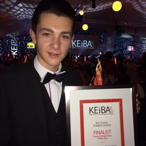 Ben at KEiBA awards 2015