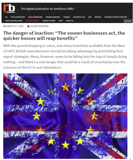 Real Business - Brexit