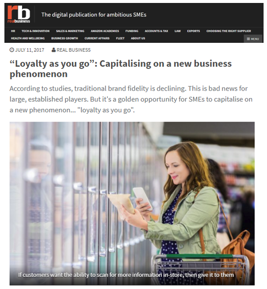 Real Business - loyalty as you go2