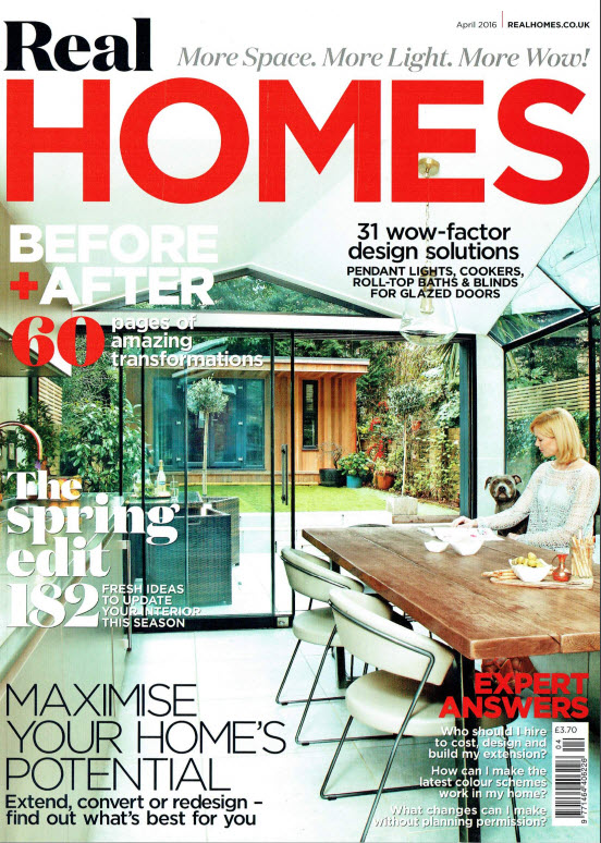 Real Homes April 2016 cover