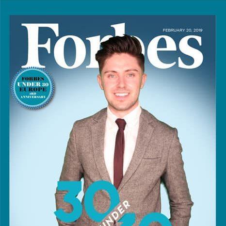 Simon Forbes portrait